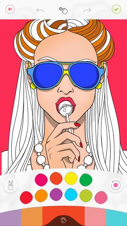 Colorfy: Coloring Art Games screenshot-0