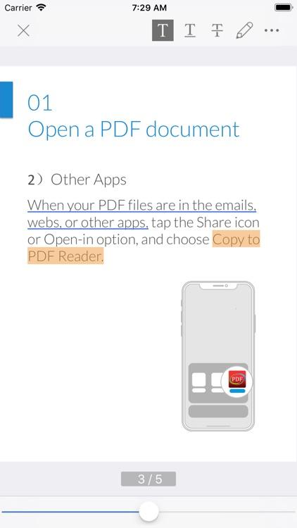 PDF Reader - Edit And Manage screenshot-3