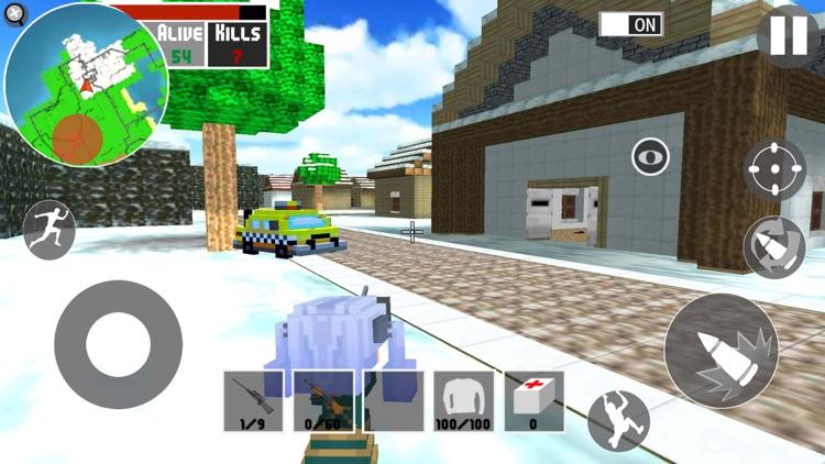 迷你像素世界3:吃鸡战场 screenshot-5