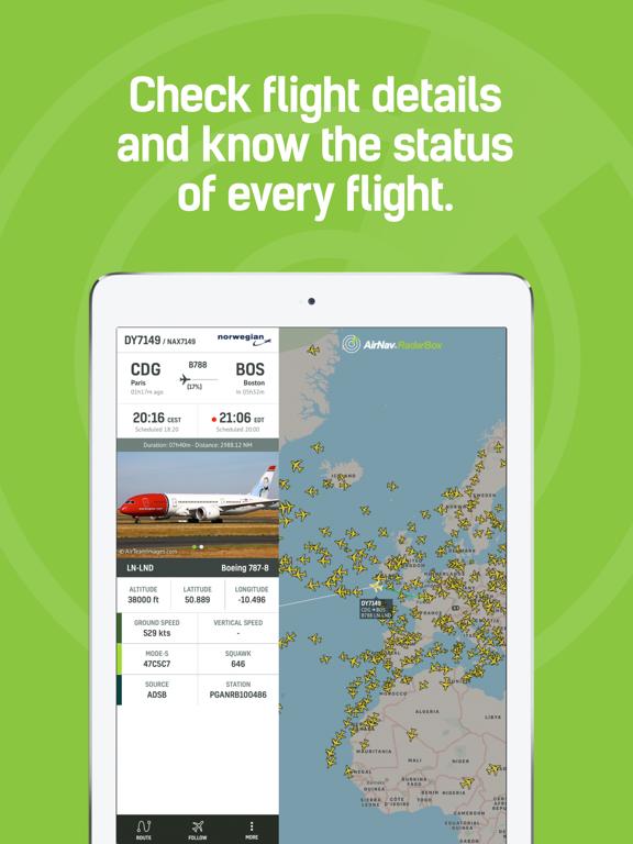 RadarBox · Live Flight Tracker by AirNav Systems (iOS, United States
