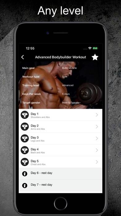 Gym Guide Pro workoutsのおすすめ画像2