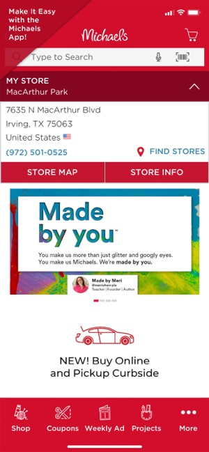 Michaels Stores On The App Store