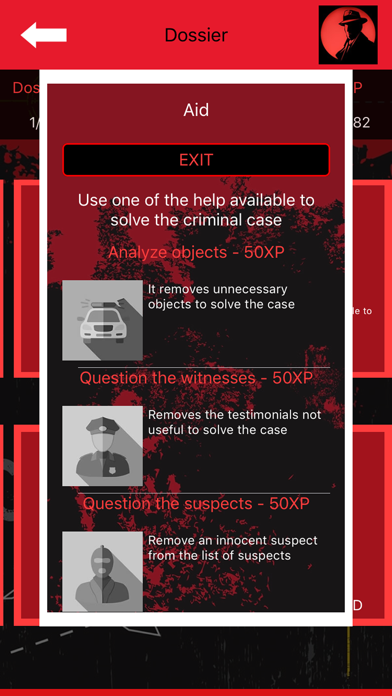 Crime Scene Detective CrimeBot screenshot 5