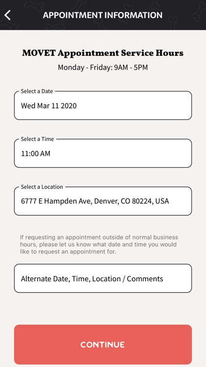 MOVET - On-Demand Vet Services screenshot-5
