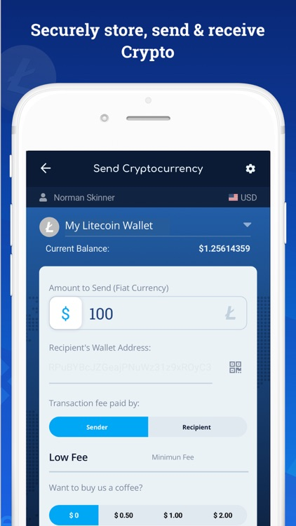 Bitcoin Wallet - DoWallet screenshot-1