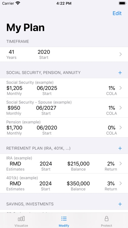 Retire View screenshot-5