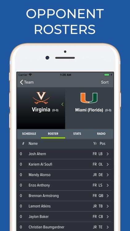 Miami Hurricanes Football screenshot-6