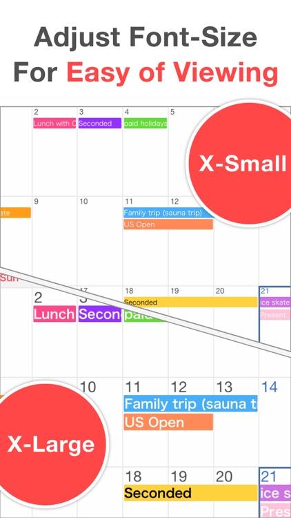シンプルカレンダー (しんぷるかれんだー Sカレンダー)