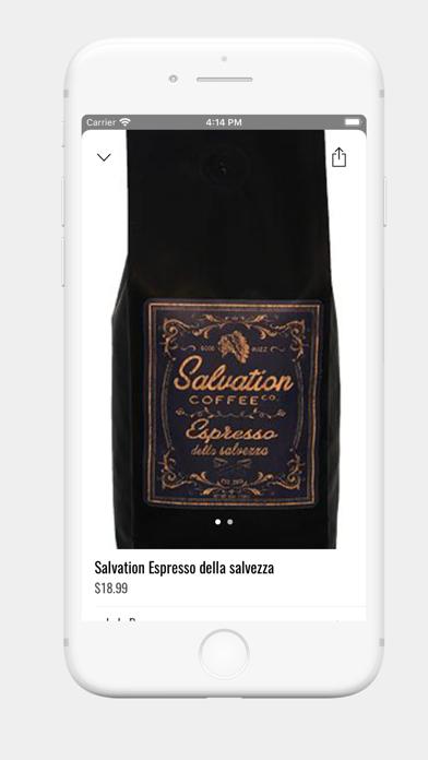 Salvation Coffee Co. screenshot 2