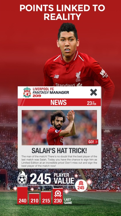 LIVERPOOL FC FANTASY MANAGER screenshot-3