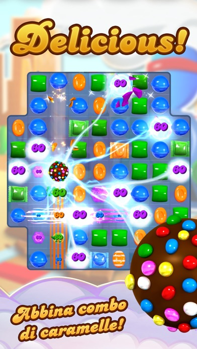 Screenshot for Candy Crush Saga in Italy App Store