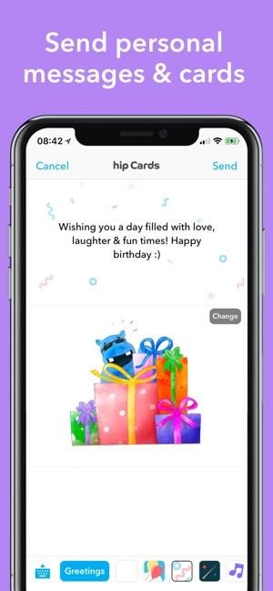 Hip Birthday Reminder App On The Store
