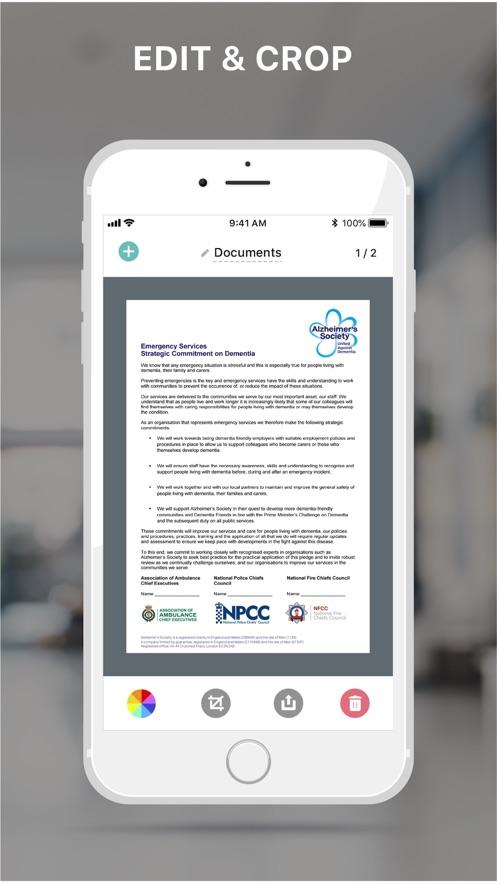 pdf扫描 ScanDoc ™ 扫描软件 App 截图