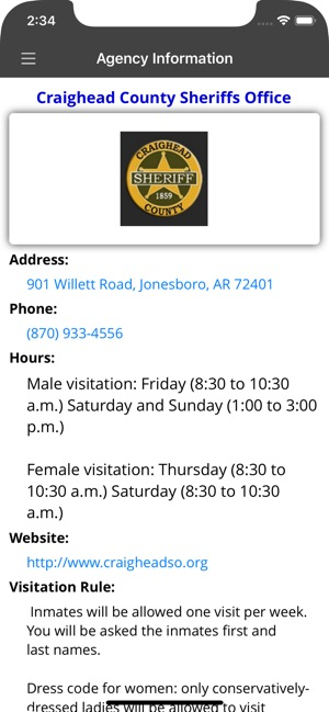 RPS-Inmate Info on the App Store