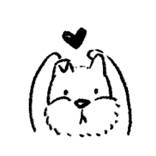 Cute Dog Animation Sticker