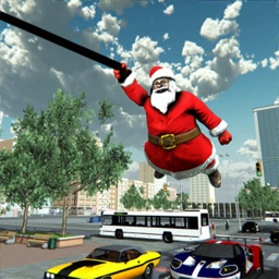 Crime City Santa Rope Hero