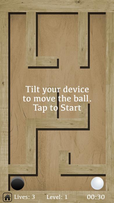 Classic Ball Maze screenshot #2