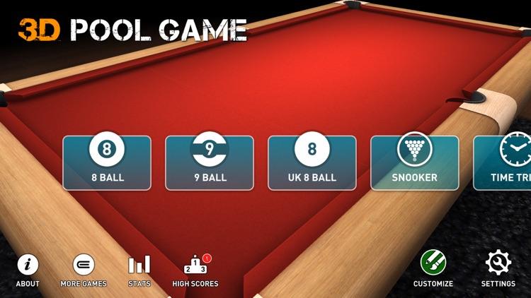 3D Pool Game screenshot-3