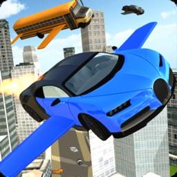 Flying Car Racing Simulator