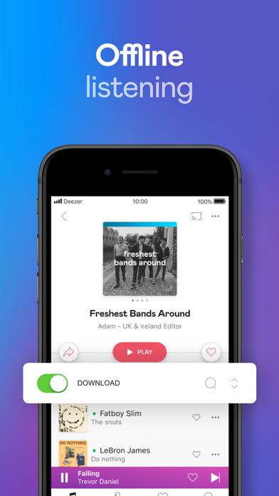 Deezer: Play & Listen to Music screenshot three
