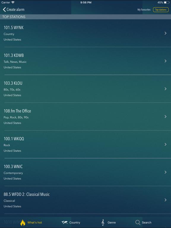 Screenshot #6 pour bedr radio réveil