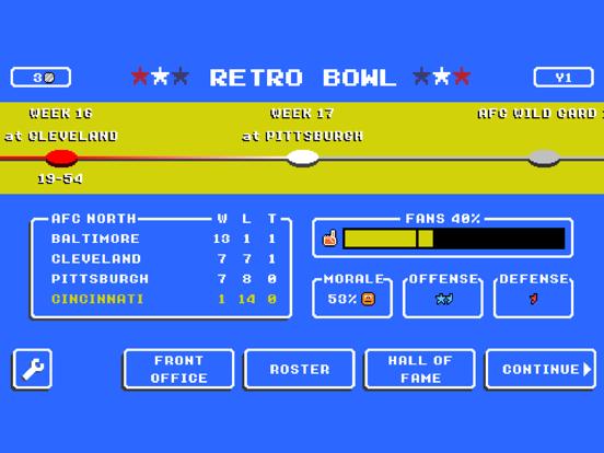Retro Bowl screenshot 6