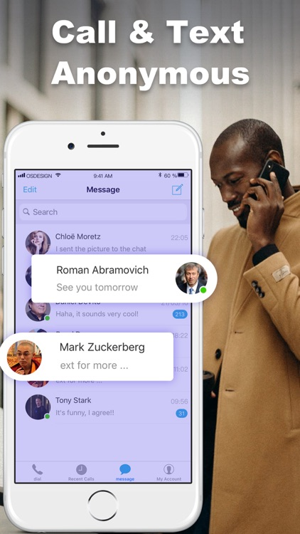 2nd Phone Number: IM Calling screenshot-3