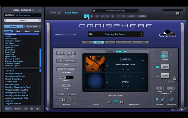 Omnisphere 2 Course By AV for Mac