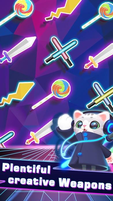 Sonic Cat-Slash the Beats screenshot 3