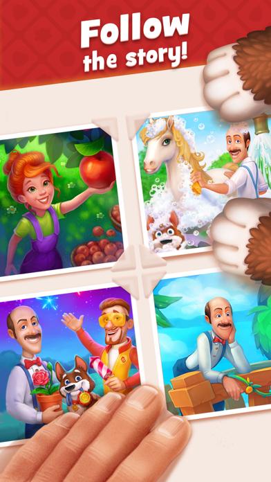 Gardenscapes Screenshot on iOS