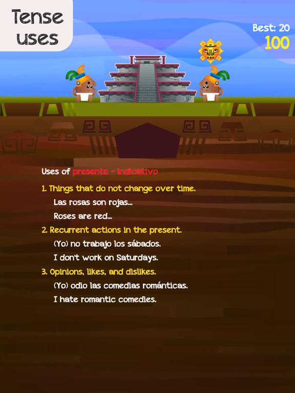 Verb Challenge Spanish screenshot 10