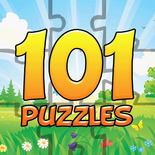 101 Kids Puzzles icon