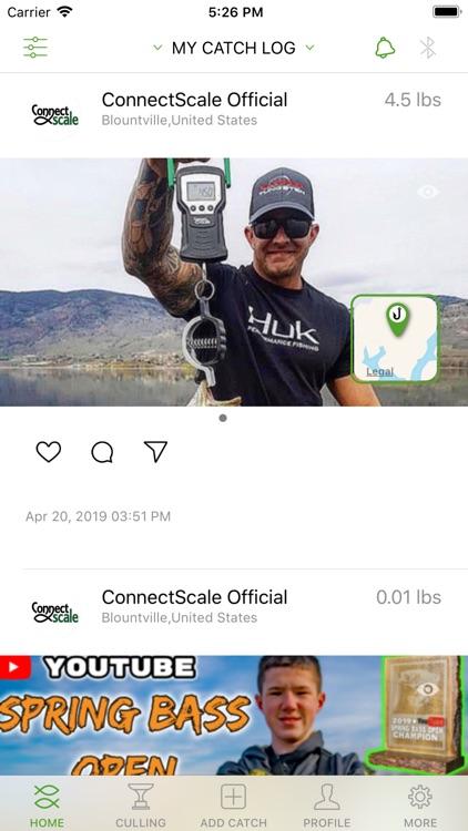 ConnectScale Fishing App screenshot-6