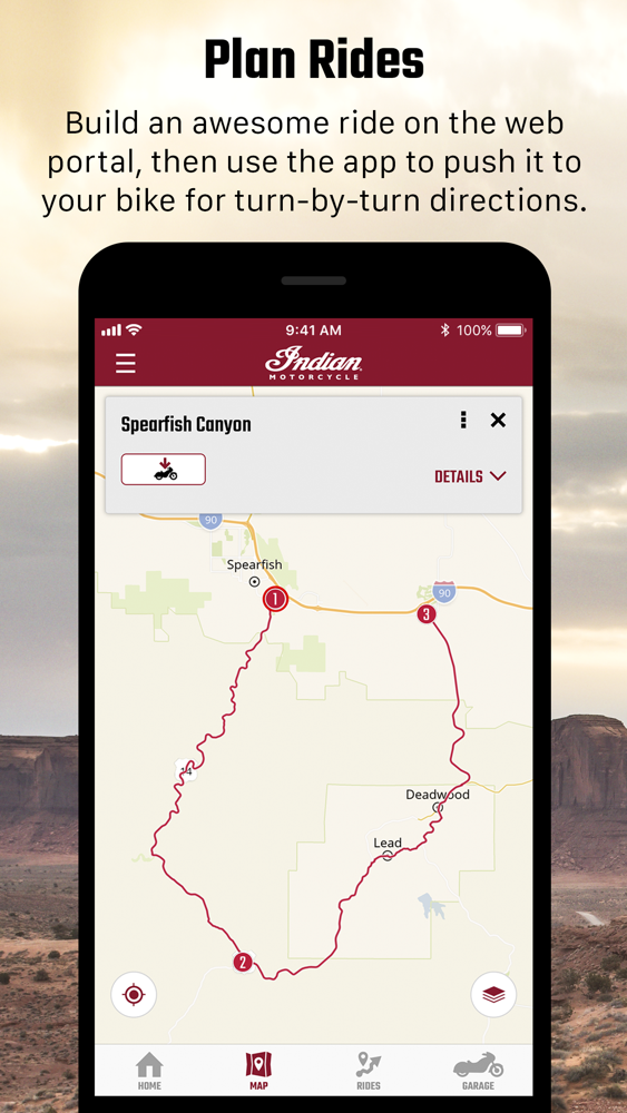 Indian Ride Command App for iPhone - Free Download Indian