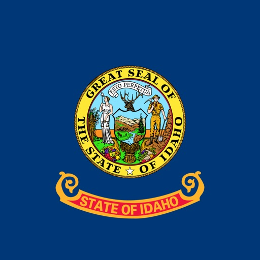 Idaho emojis - USA stickers