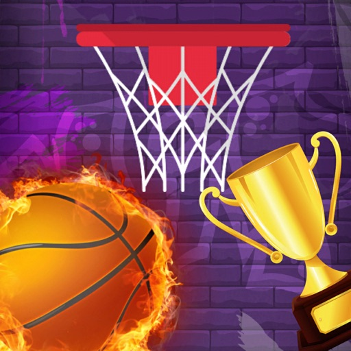 Flick Basketball Arcade Online icon
