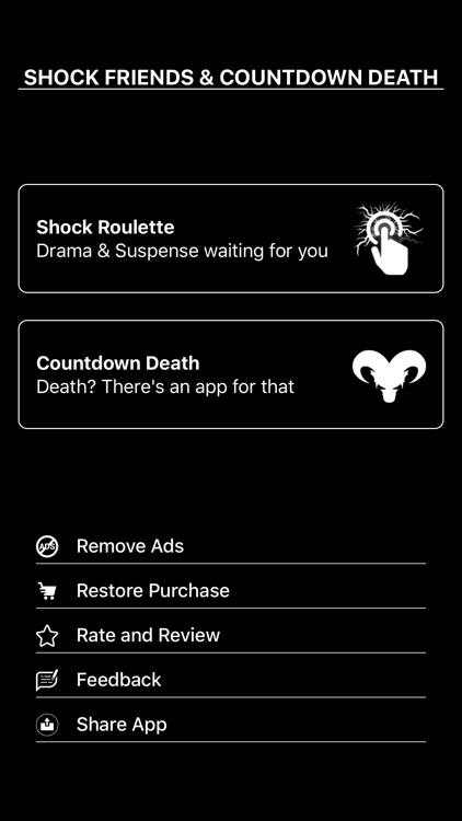 Roulette Shock - Countdown App