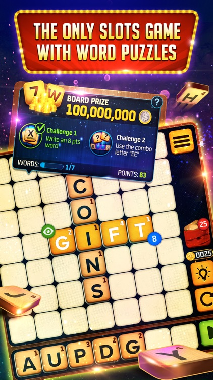 Vegas Downtown Slots & Words screenshot-8