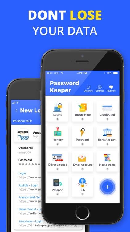 Password Security & Organizer screenshot-3