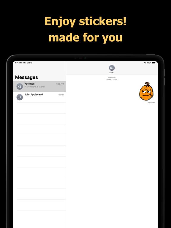 Halloween Mem emoji - pumpkin screenshot 10