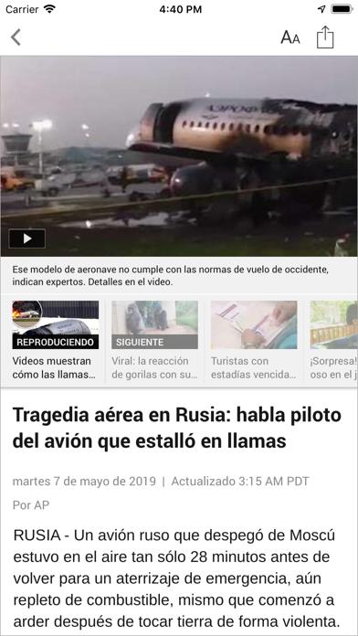 Telemundo 33: Sacramento screenshot 4