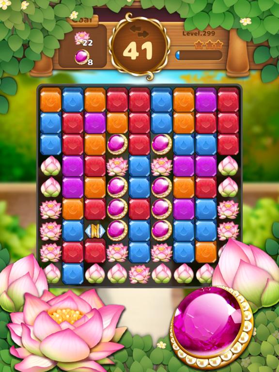 Jewels Garden : Blast Puzzle screenshot 13