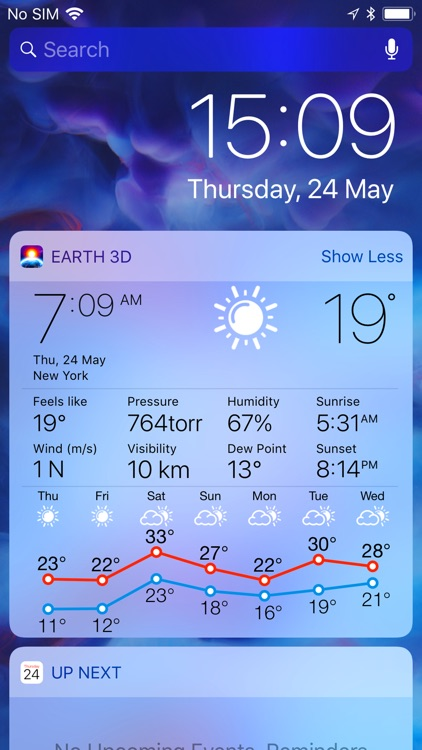 3D EARTH the weather forecast screenshot-8