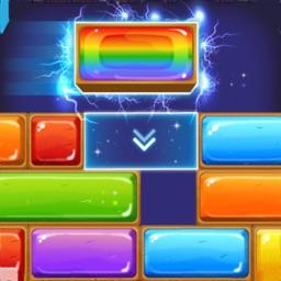 Jewel Sliding - Drop Puzzle