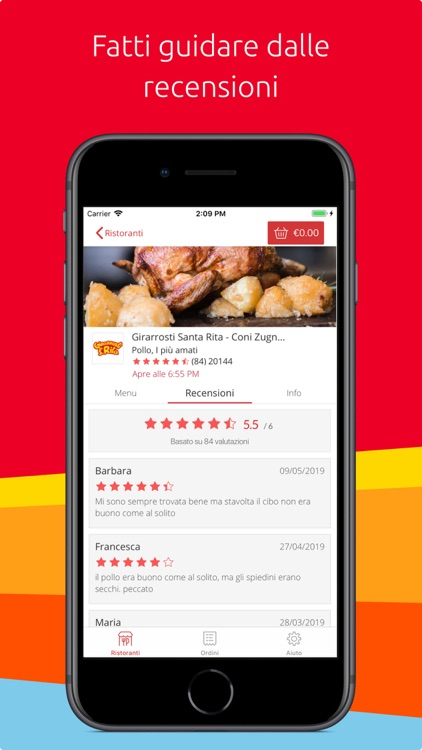 Just Eat: Ristoranti Domicilio screenshot-3