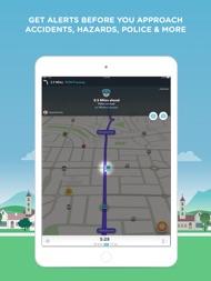 Waze Navigation & Live Traffic ipad images