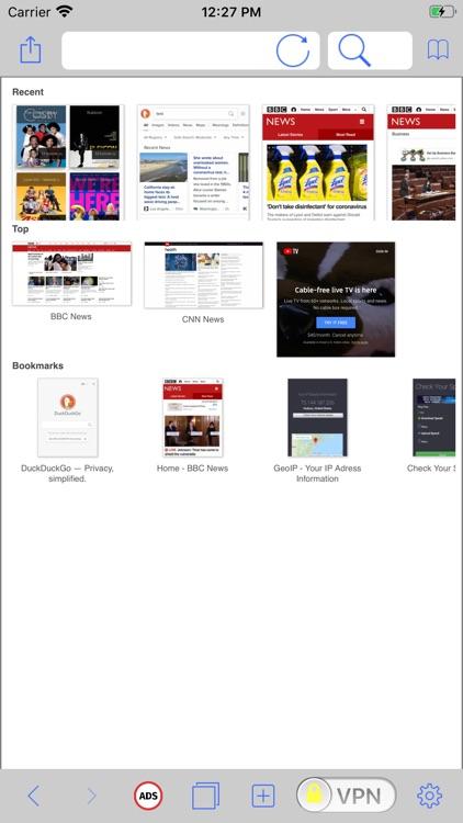 Video VPN Browser TV Streaming