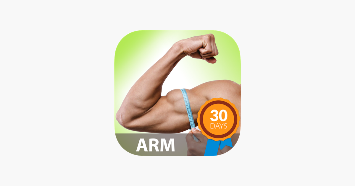 Strong Arms In 30 Days On The App Store