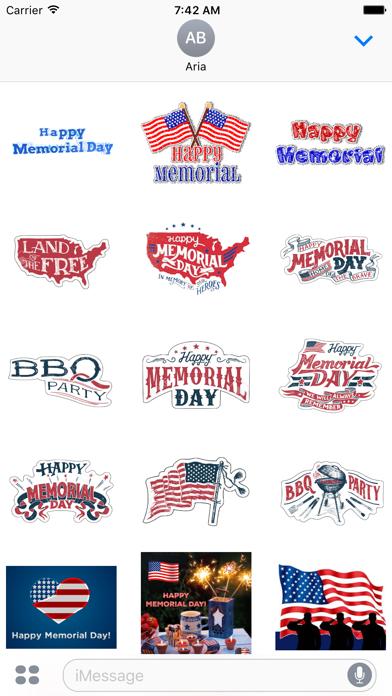 Happy Memorial Day Icon screenshot 2