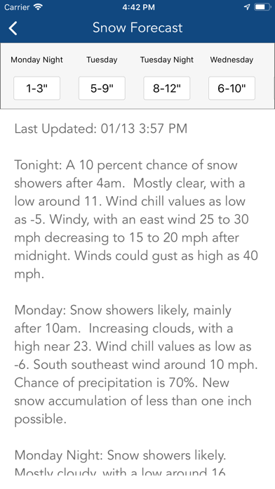 Ski Tracker & Snow Forecast screenshot 6
